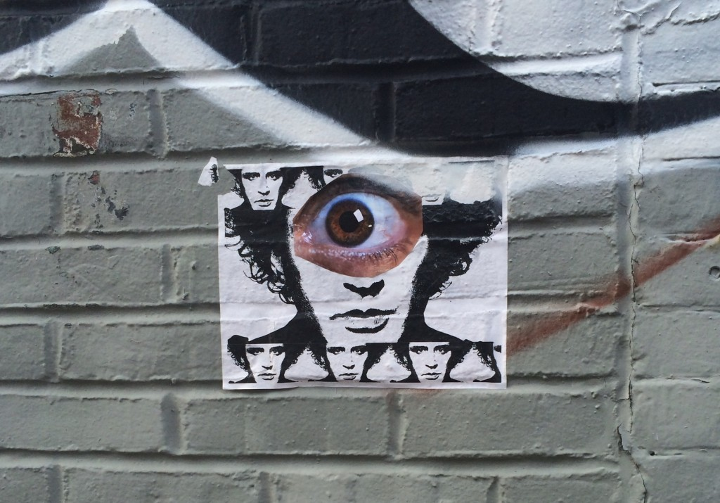 a little local brooklyn graffiti, third eye, looking within action for you.